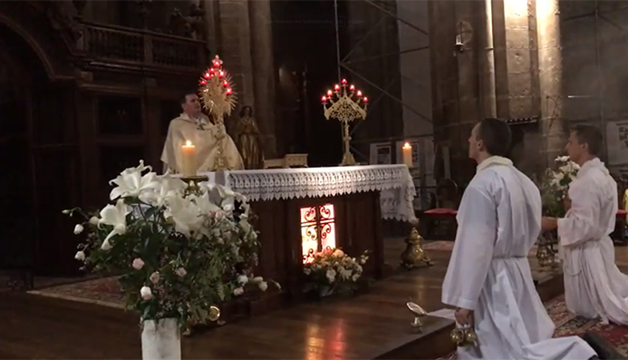 Adoratio2017: Bénédiction du Saint Sacrement